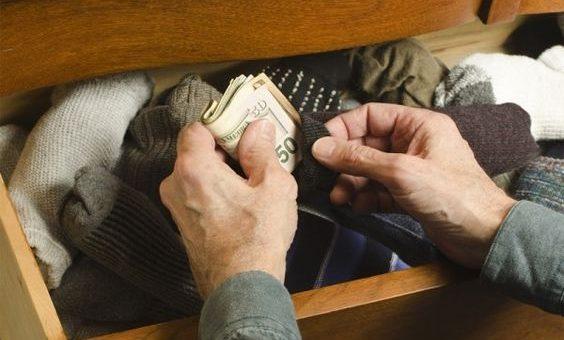 Wertsachen verstecken