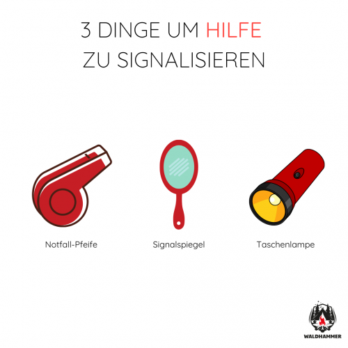 3 Dinge um Hilfe zu signalisieren