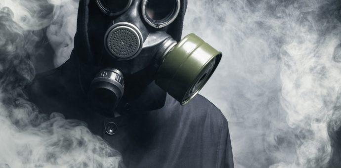 Mann mit Maske Prepper Forum